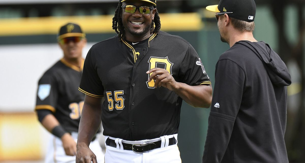 Josh Bell of the Pittsburgh Pirates.