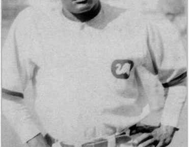 Cristóbal Torriente shows off his usual surly look in a photo.