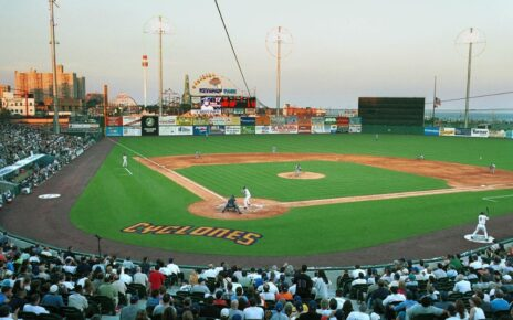 A Brooklyn Cyclones game at MCU Park.