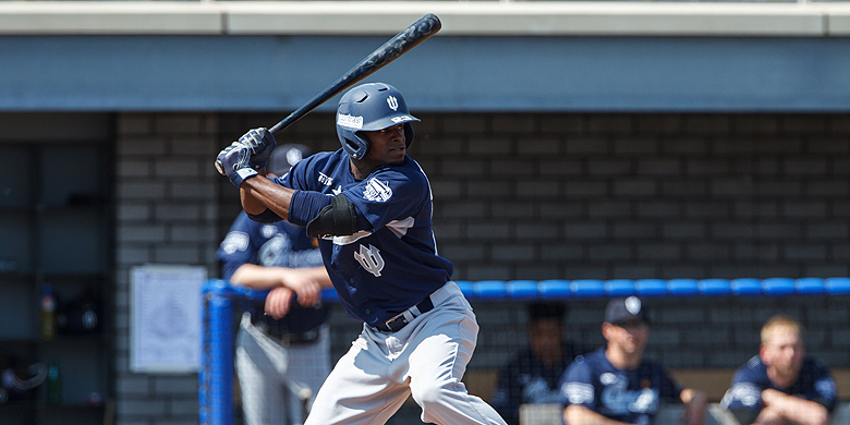 A player at-bat for Curaçao Neptunus.