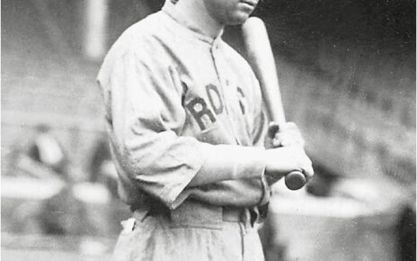 Tris Speaker in uniform sometime in the early 1900s.