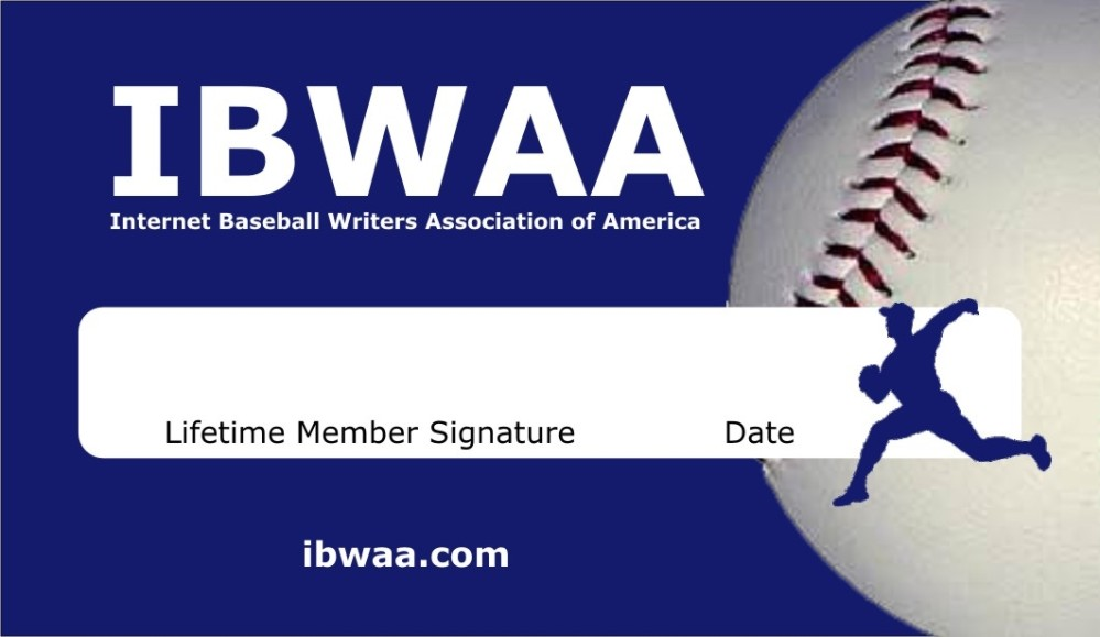 IBWAA membership card