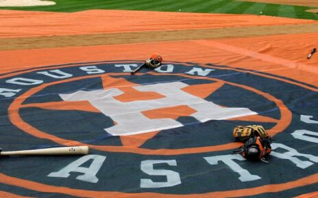 Houston Astros on-deck circle.