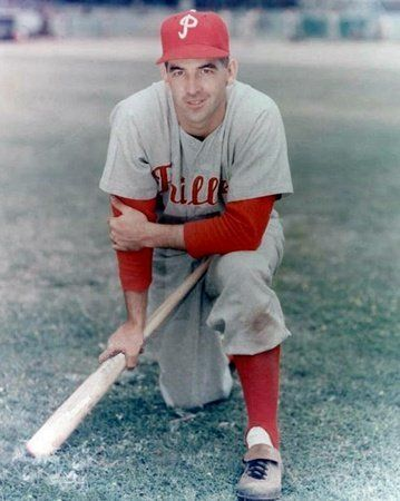 Granny Hamner with the Philadelphia Phillies