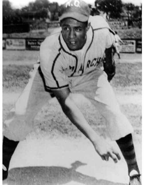 Chet Brewer with the Kansas City Monarchs