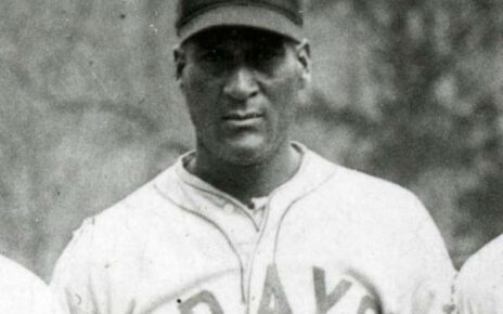 Smokey Joe Williams while with the Homestead Grays