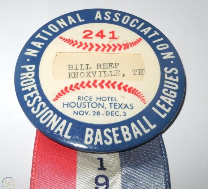 A ribbon from the 1954 NAPBL convention.