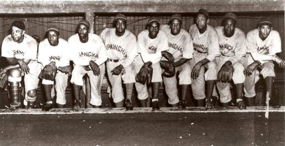 Team photo of the Birmingham Black Barons