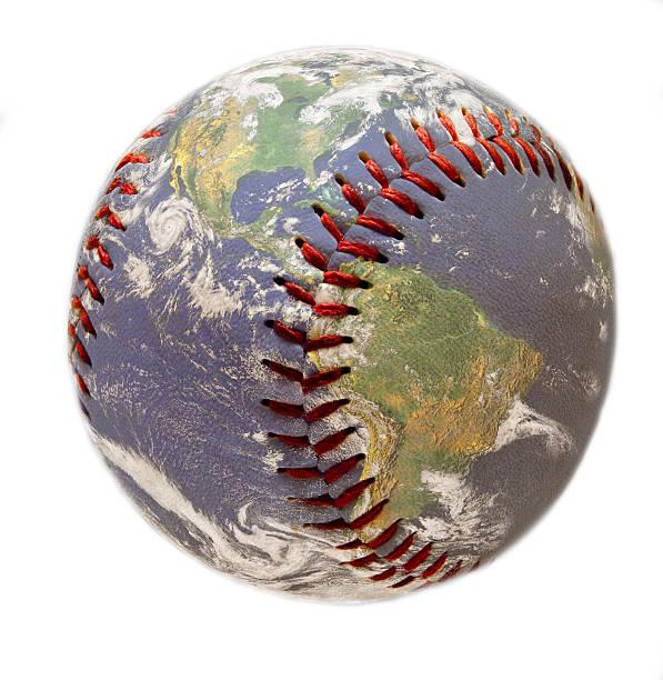 Baseball as a globe
