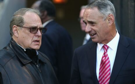 Jerry Reinsdorf and Rob Manfred talking about more ways to destroy baseball