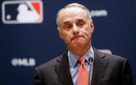Rob Manfred getting ready to screw baseball over in one way or another