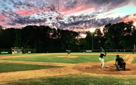 A beautiful baseball field