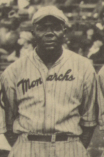 Dobie Moore with the Kansas City Monarchs in 1924