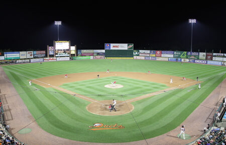 Bethpage Ballpark, home of the Long Island Ducks