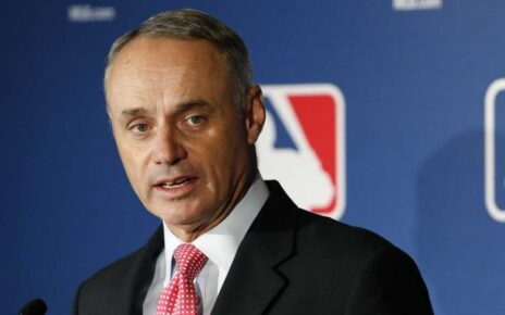 Rob Manfred explaining how much he hates baseball
