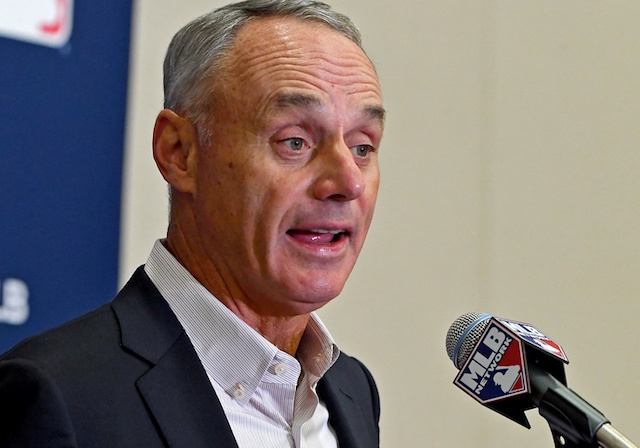 Rob Manfred is talking so he must be lying