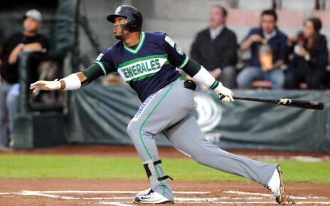 Yadir Drake with the pretty swing