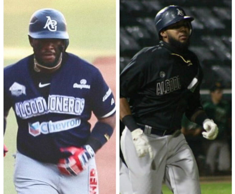 Yadir Drake, on the left, and Erisbel Arruebarrena, on the right, have powered Algodoneros de Guasave to contention.