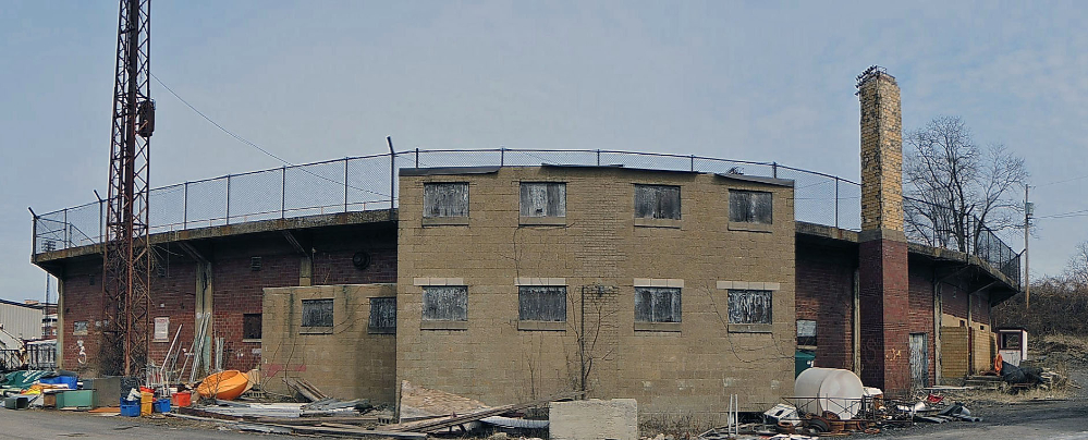 A broken down West Field, a sometimes home for the Homestead Grays.