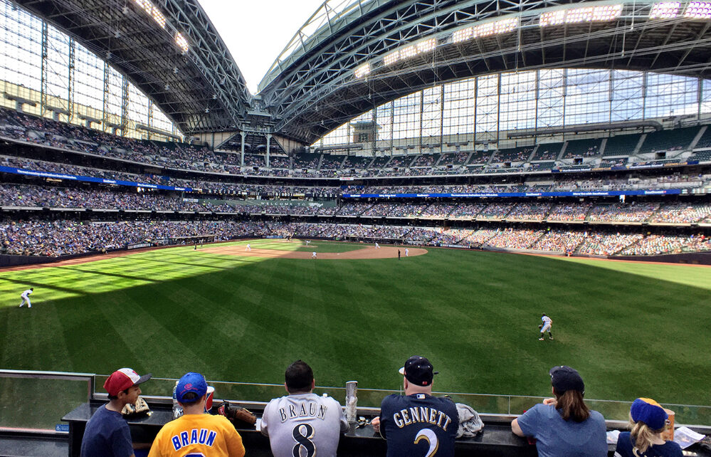 It's hard to find a bad seat at Miller Park