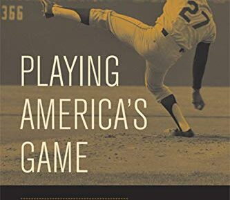 Cover for Playing America's Game