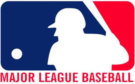 Logo for Major League Baseball