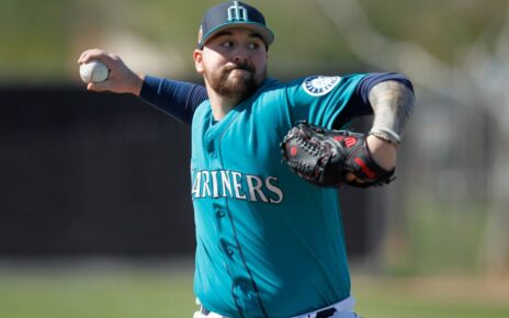 Rob Whalen while with the Seatlle Mariners