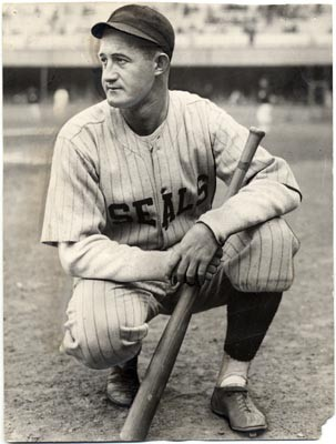 Smead Jolley with the San Francisco Seals in 1928