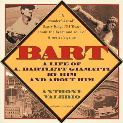 The cover for Bart: A Life of A. Bartlett Giamatti
