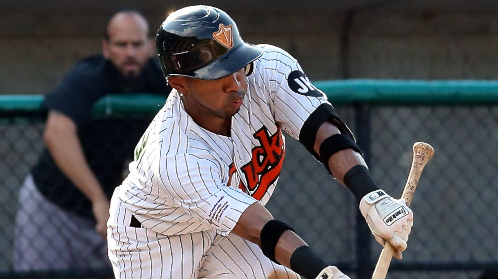 Johnni Turbo when he was D'Arby Myers with the Long Island Ducks