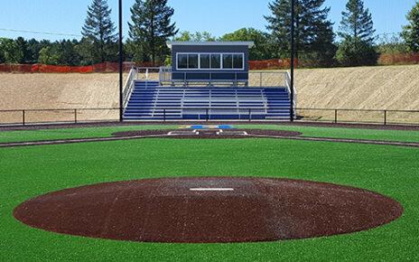 A generic pitching mound