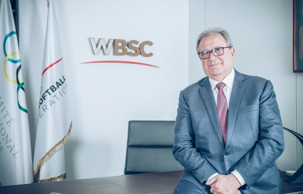 WBSC President Riccardo Fraccari